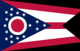 Photo of State of Ohio flag